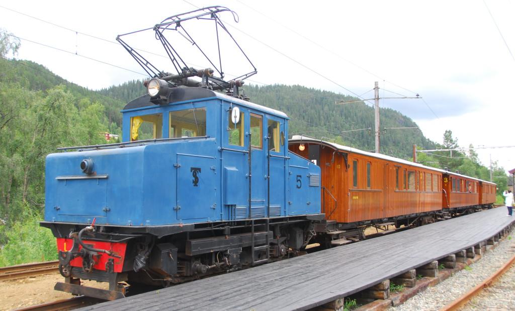 Thamshavnbanen_loco_5_at_Løkken