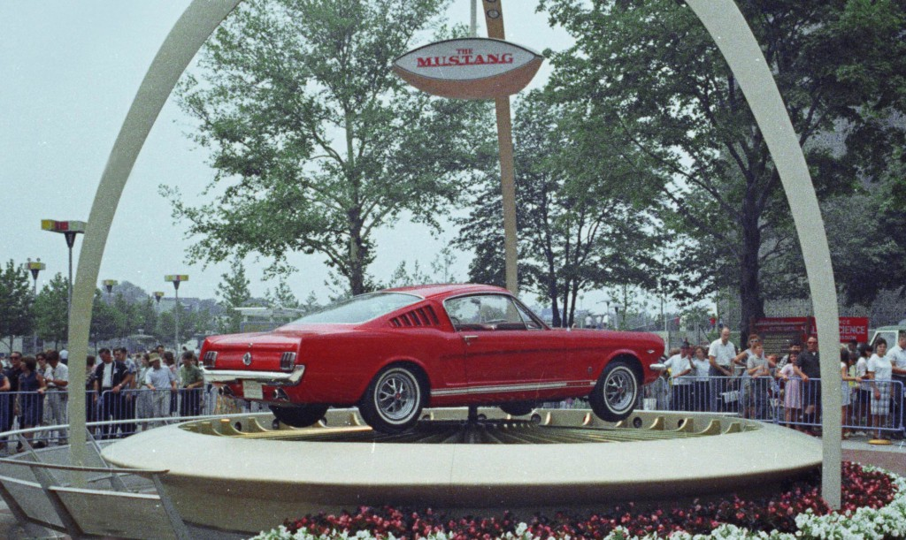 Celebrating 50 Years of Ford Mustang
