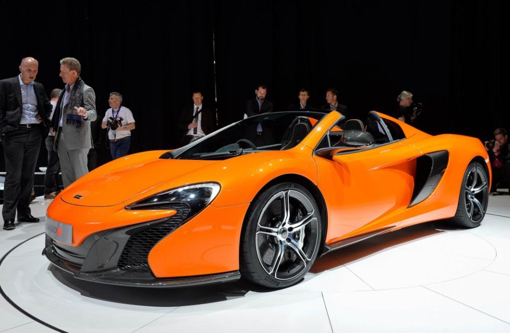 McLaren 650S Spider-