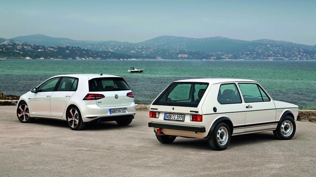Volkswagen GTI und Volkswagen Golf I GTI